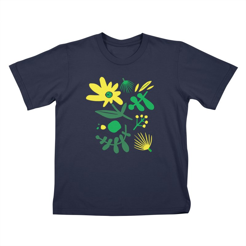 Happy, Wild & Free Kids T-Shirt by Willoughby Goods