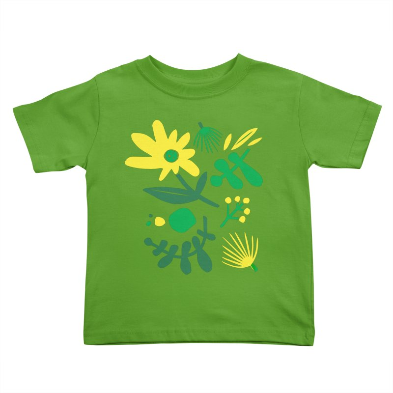Happy, Wild & Free Kids Toddler T-Shirt by Willoughby Goods