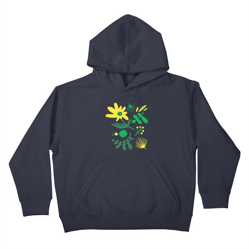 Happy, Wild & Free Kids Pullover Hoody by Willoughby Goods