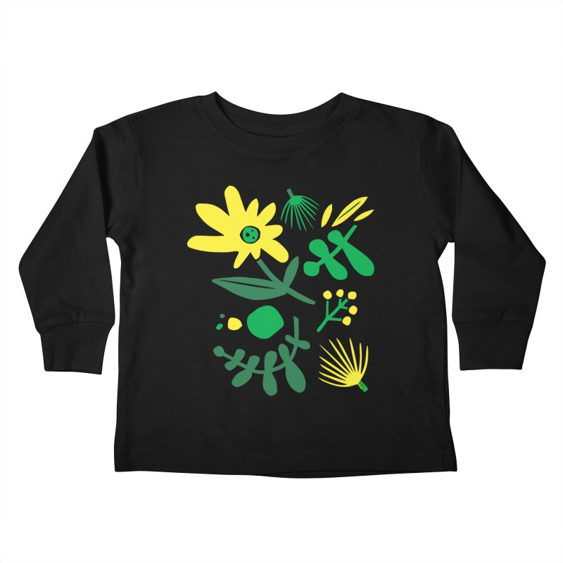 Happy, Wild & Free Kids Toddler Longsleeve T-Shirt by Willoughby Goods