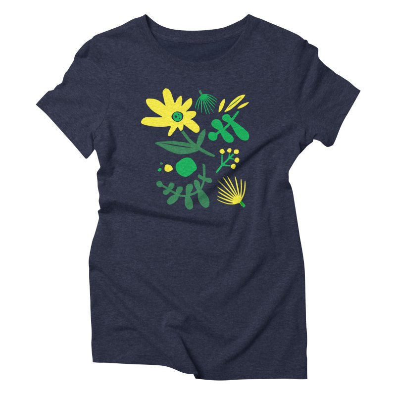 Happy, Wild & Free Women's Triblend T-Shirt by Willoughby Goods