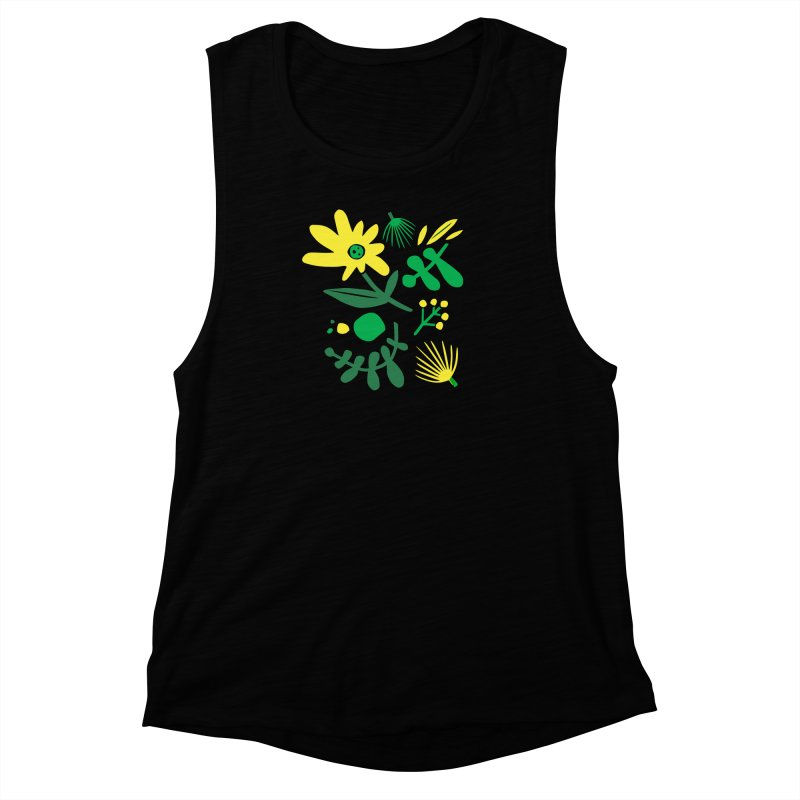 Happy, Wild & Free Women's Muscle Tank by Willoughby Goods