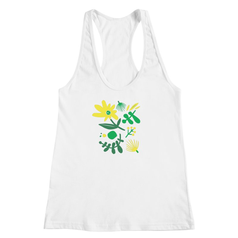 Happy, Wild & Free Women's Racerback Tank by Willoughby Goods