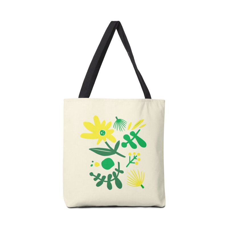 Happy, Wild & Free Accessories Tote Bag Bag by Willoughby Goods