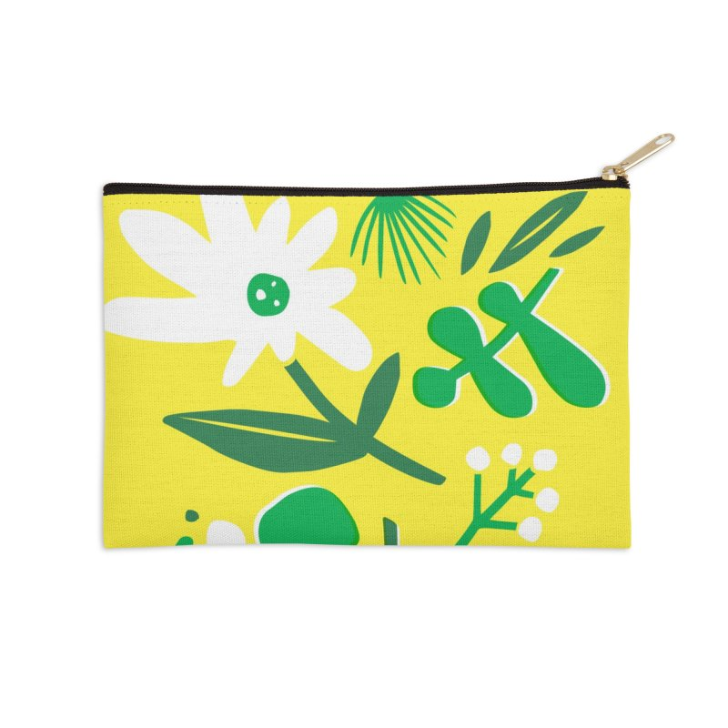 Happy, Wild & Free Accessories Zip Pouch by Willoughby Goods