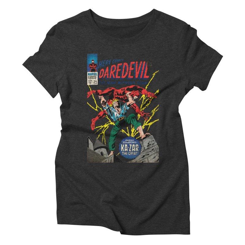Daredevil Women's Triblend T-Shirt by wilson's Artist Shop