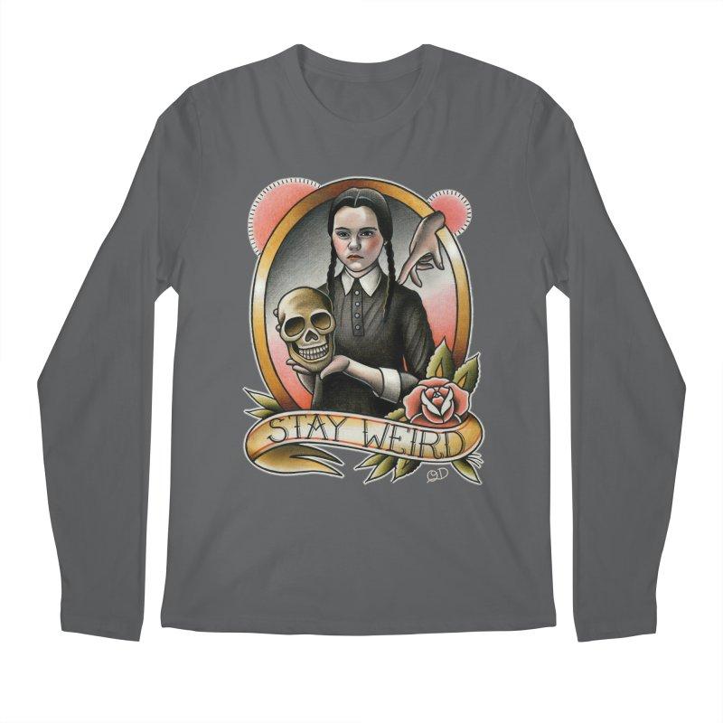 Weird Wednesday Men's Longsleeve T-Shirt by wilson's Artist Shop