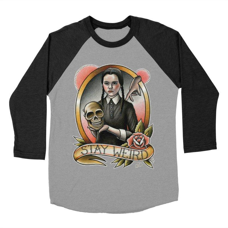 Weird Wednesday Women's Baseball Triblend T-Shirt by wilson's Artist Shop