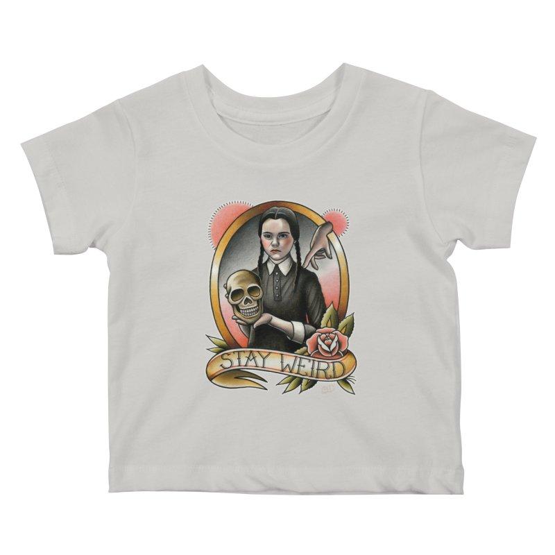 Weird Wednesday Kids Baby T-Shirt by wilson's Artist Shop