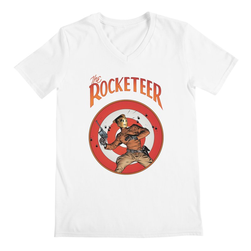 Rocketeer test Men's V-Neck by wilson's Artist Shop