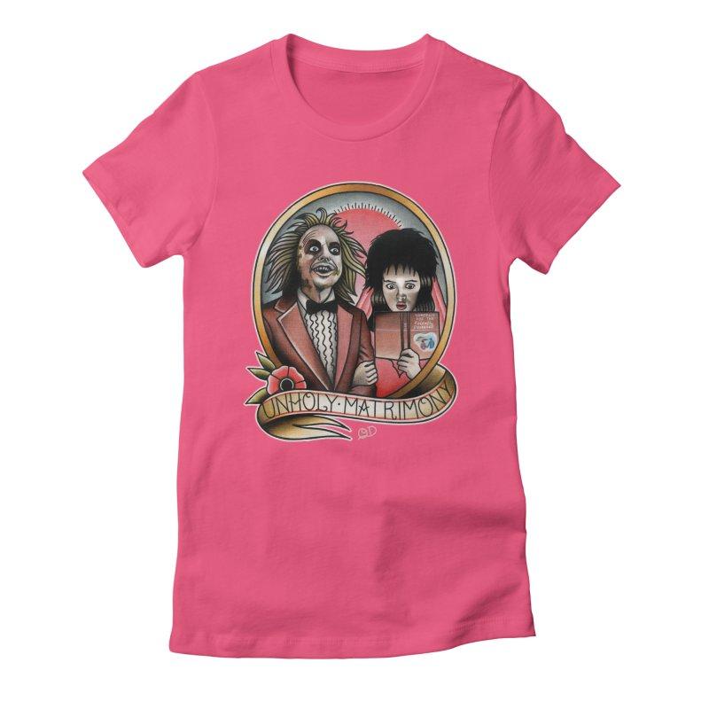 Test Women's Fitted T-Shirt by wilson's Artist Shop