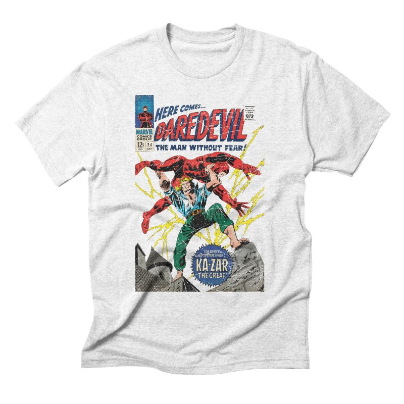 Test marvel Men's Triblend T-shirt by wilson's Artist Shop