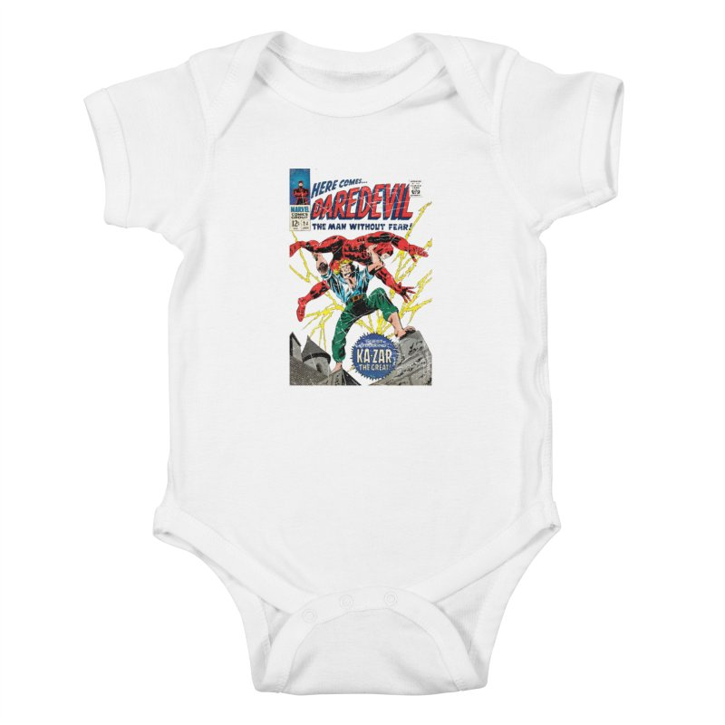 Test marvel Kids Baby Bodysuit by wilson's Artist Shop