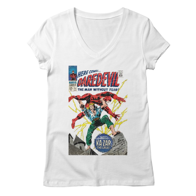 Test marvel Women's V-Neck by wilson's Artist Shop