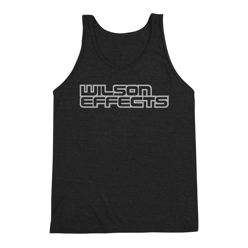 Wilson Effects Logo Shirt in Men's Triblend Tank Heather Onyx by Wilson Effects Artist Shop