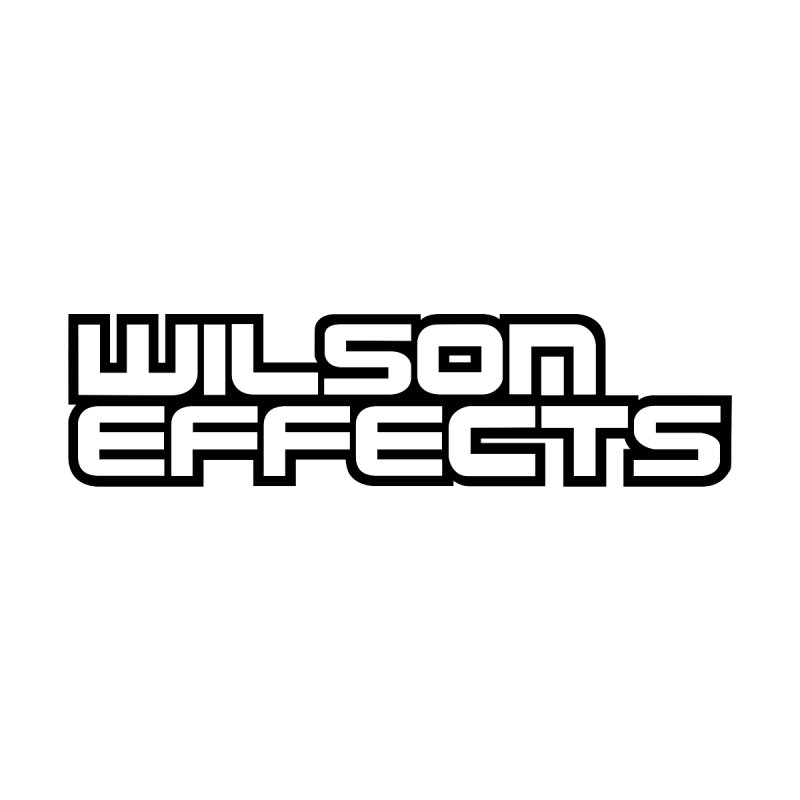 Wilson Effects Black Logo Men's Sweatshirt by Wilson Effects Artist Shop