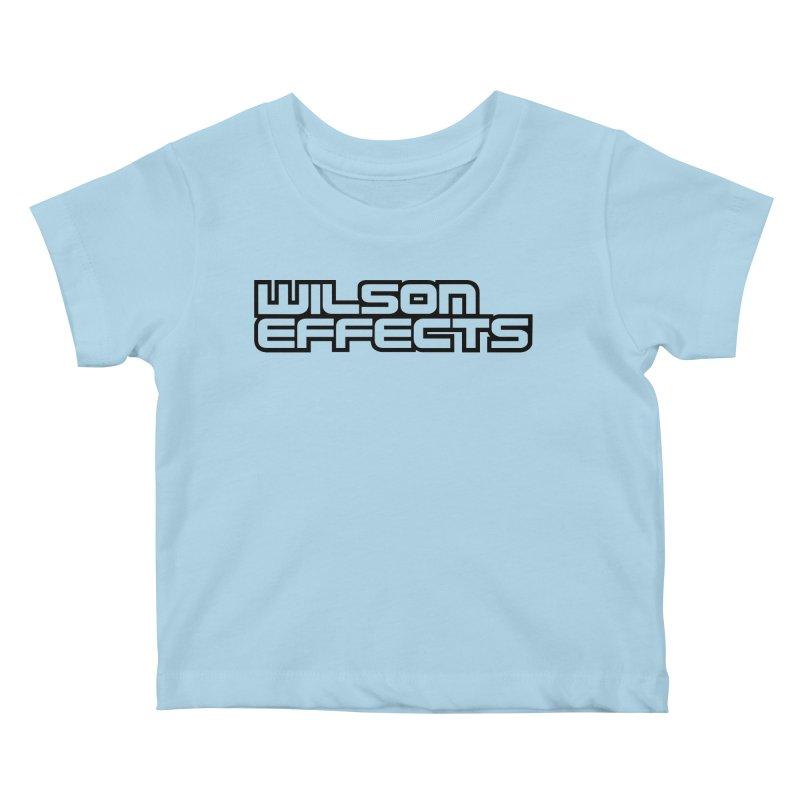 Wilson Effects Black Logo Kids Baby T-Shirt by Wilson Effects Artist Shop