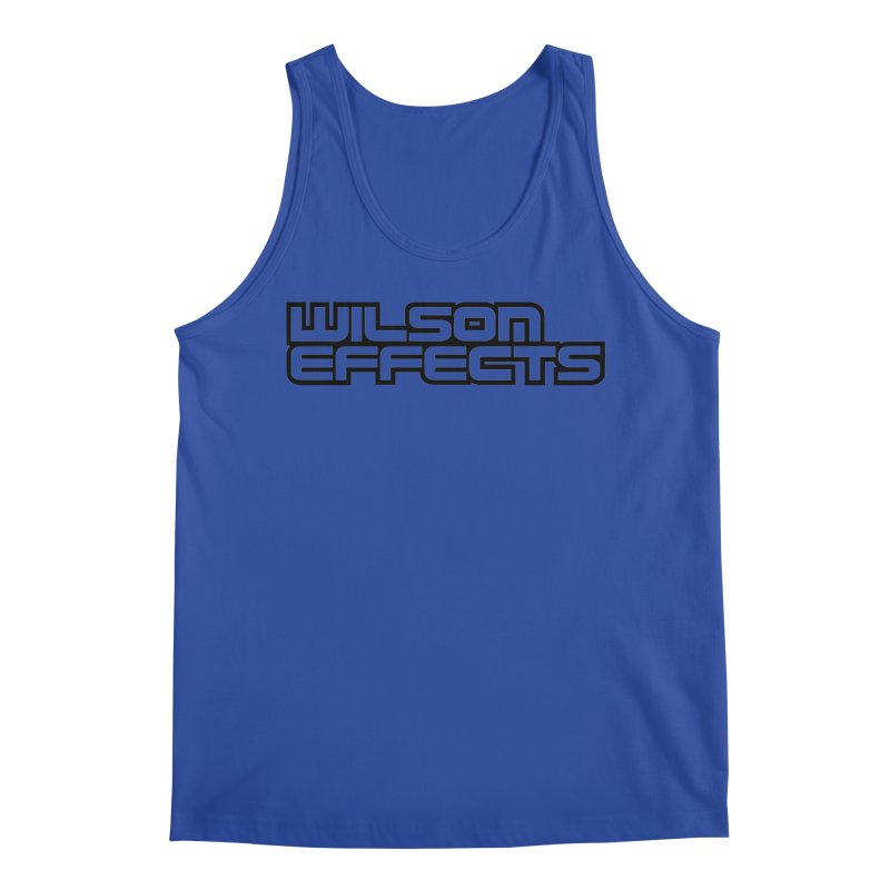 Wilson Effects Black Logo Men's Regular Tank by Wilson Effects Artist Shop