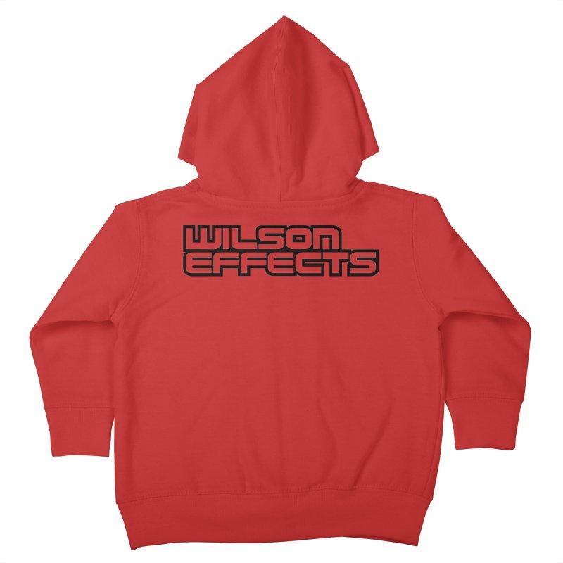 Wilson Effects Black Logo Kids Toddler Zip-Up Hoody by Wilson Effects Artist Shop