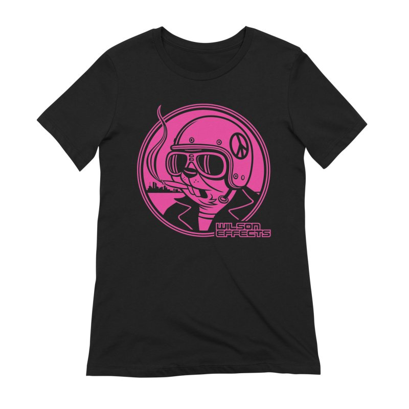 Dirty Beaver Classic Design Women's Extra Soft T-Shirt by Wilson Effects Artist Shop