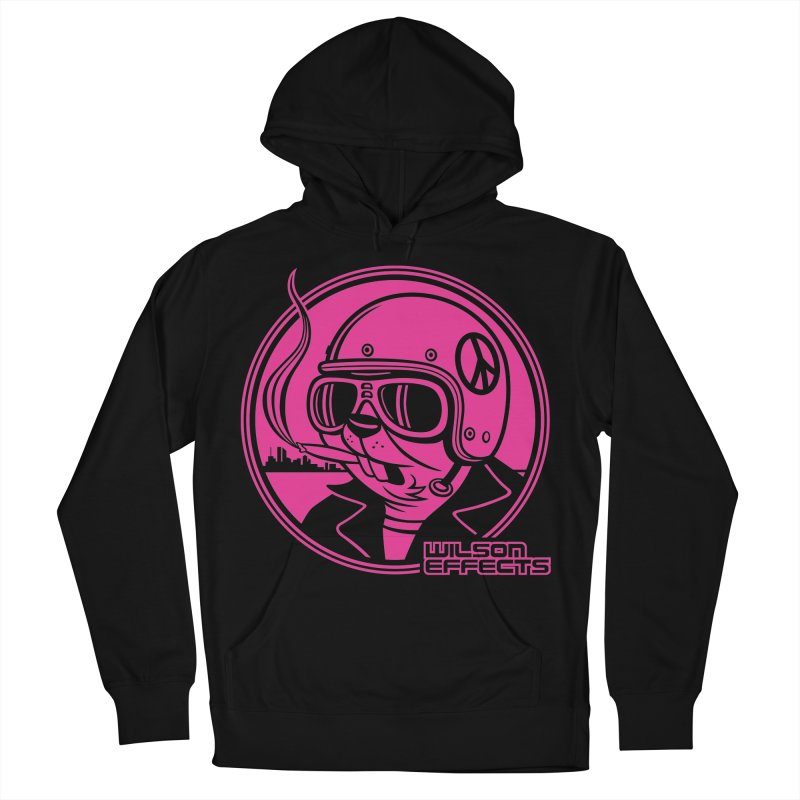 Dirty Beaver Classic Design Men's French Terry Pullover Hoody by Wilson Effects Artist Shop