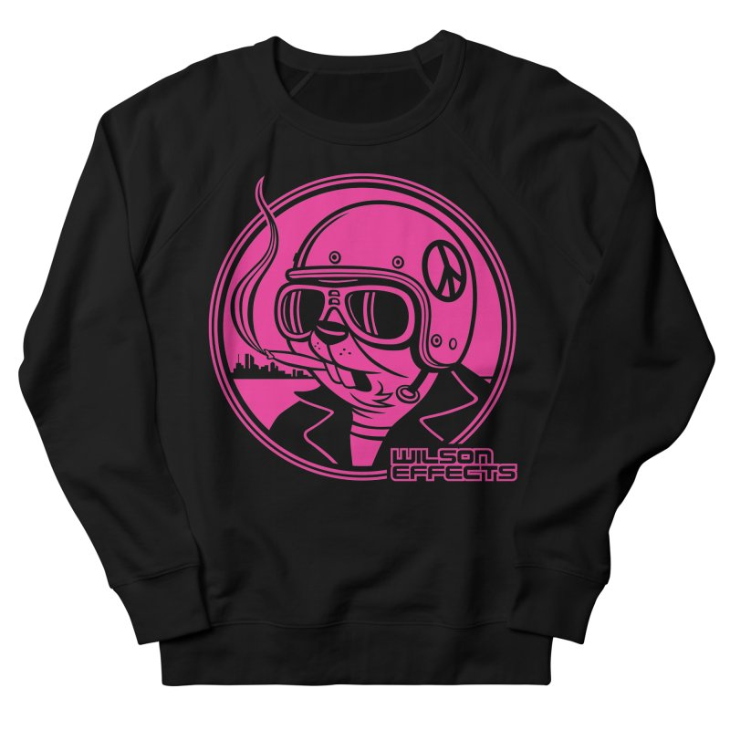 Dirty Beaver Classic Design Women's French Terry Sweatshirt by Wilson Effects Artist Shop