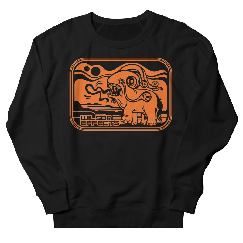 Lusus Naturae Classic Design Women's French Terry Sweatshirt by Wilson Effects Artist Shop
