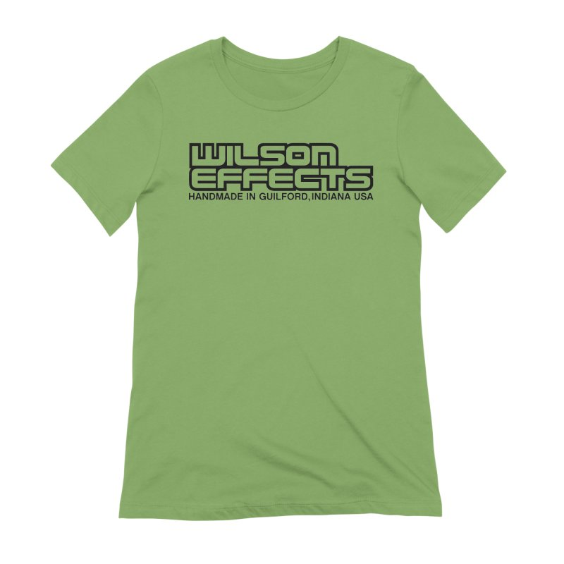 Wilson Logo Handmade in Guilford, IN. Women's Extra Soft T-Shirt by Wilson Effects Artist Shop