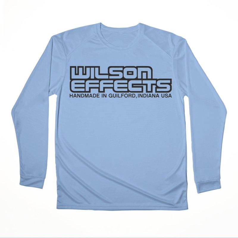 Wilson Logo Handmade in Guilford, IN. Men's Performance Longsleeve T-Shirt by Wilson Effects Artist Shop