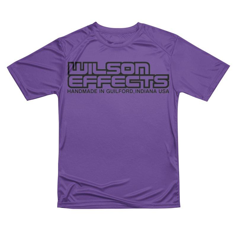 Wilson Logo Handmade in Guilford, IN. Men's Performance T-Shirt by Wilson Effects Artist Shop