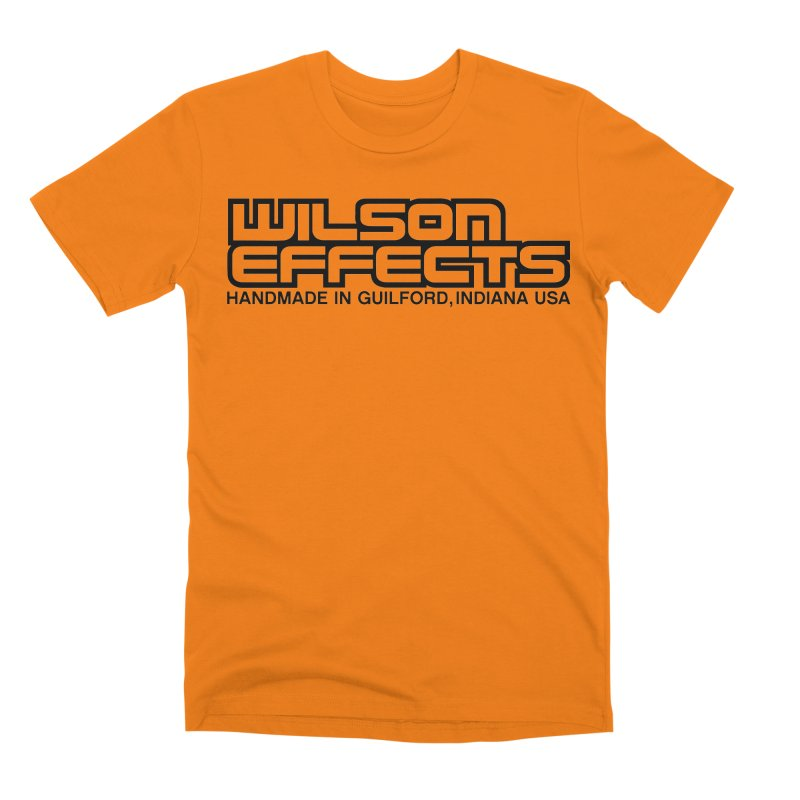 Wilson Logo Handmade in Guilford, IN. Men's T-Shirt by Wilson Effects Artist Shop