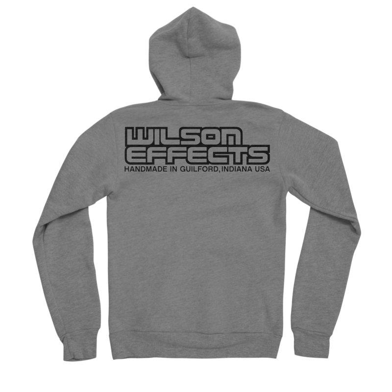 Wilson Logo Handmade in Guilford, IN. Men's Sponge Fleece Zip-Up Hoody by Wilson Effects Artist Shop