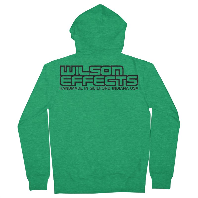 Wilson Logo Handmade in Guilford, IN. Men's French Terry Zip-Up Hoody by Wilson Effects Artist Shop