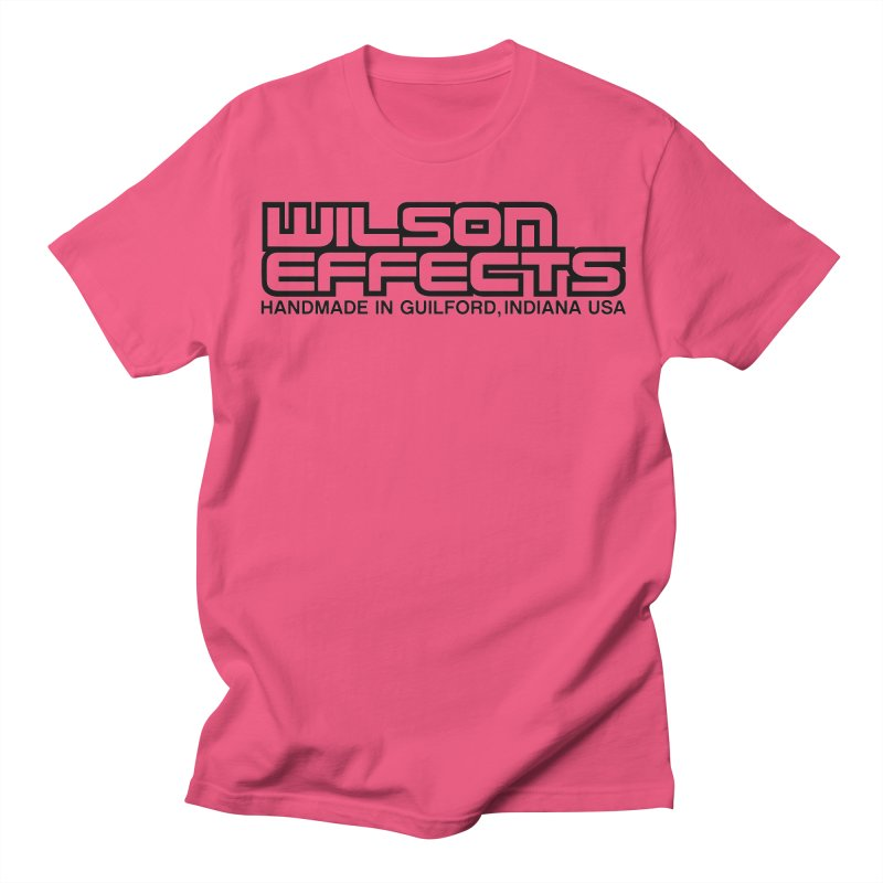 Wilson Logo Handmade in Guilford, IN. Women's Regular Unisex T-Shirt by Wilson Effects Artist Shop