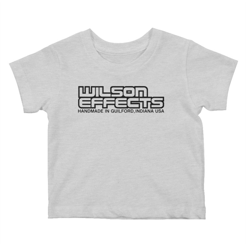 Wilson Logo Handmade in Guilford, IN. Kids Baby T-Shirt by Wilson Effects Artist Shop