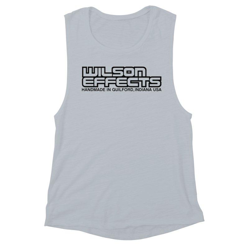 Wilson Logo Handmade in Guilford, IN. Women's Muscle Tank by Wilson Effects Artist Shop