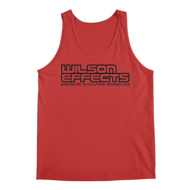 Wilson Logo Handmade in Guilford, IN. Men's Regular Tank by Wilson Effects Artist Shop