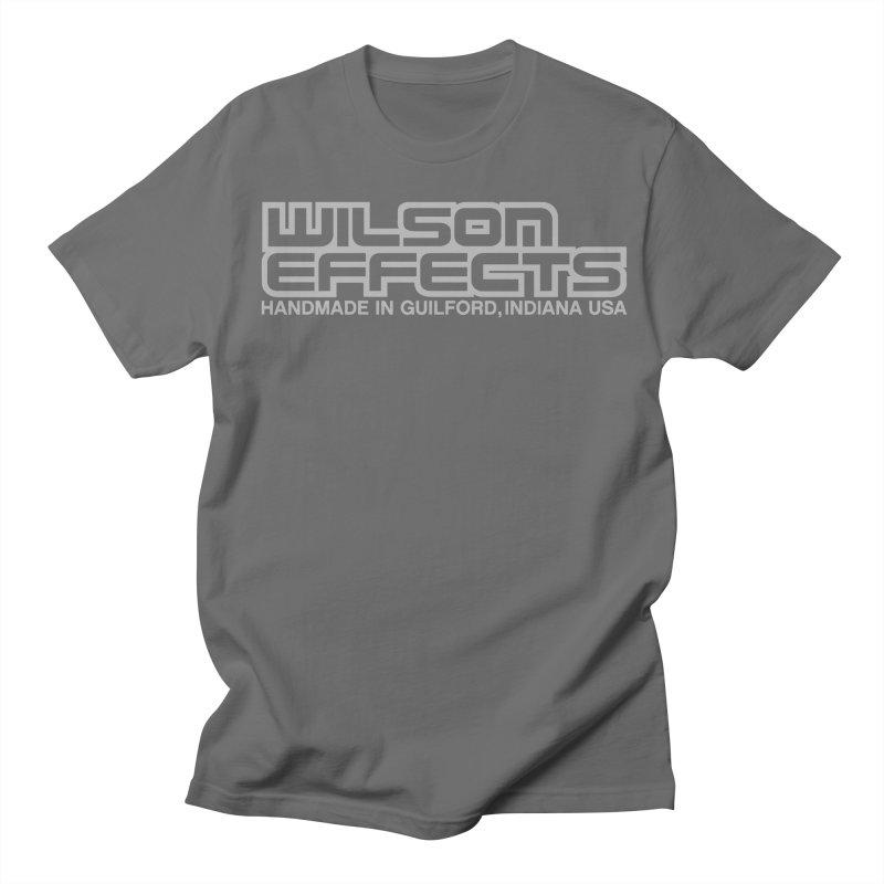 Wilson Effects Handmade Grey Logo Men's T-Shirt by Wilson Effects Artist Shop