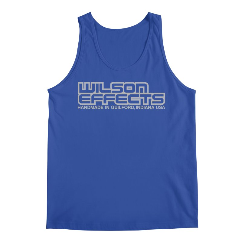 Wilson Effects Handmade Grey Logo Men's Regular Tank by Wilson Effects Artist Shop