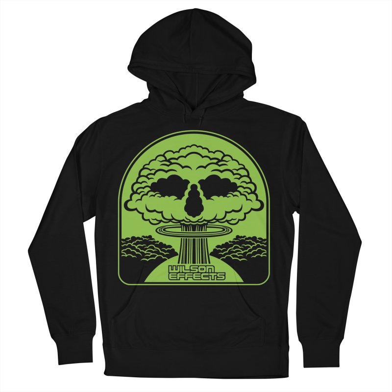 World War Logo Men's French Terry Pullover Hoody by Wilson Effects Artist Shop