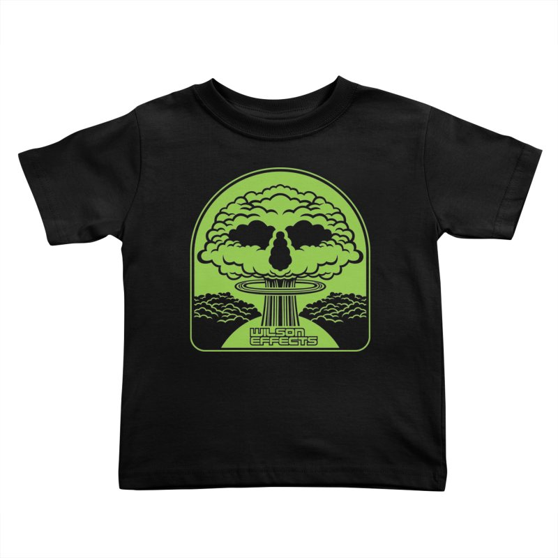 World War Logo Kids Toddler T-Shirt by Wilson Effects Artist Shop