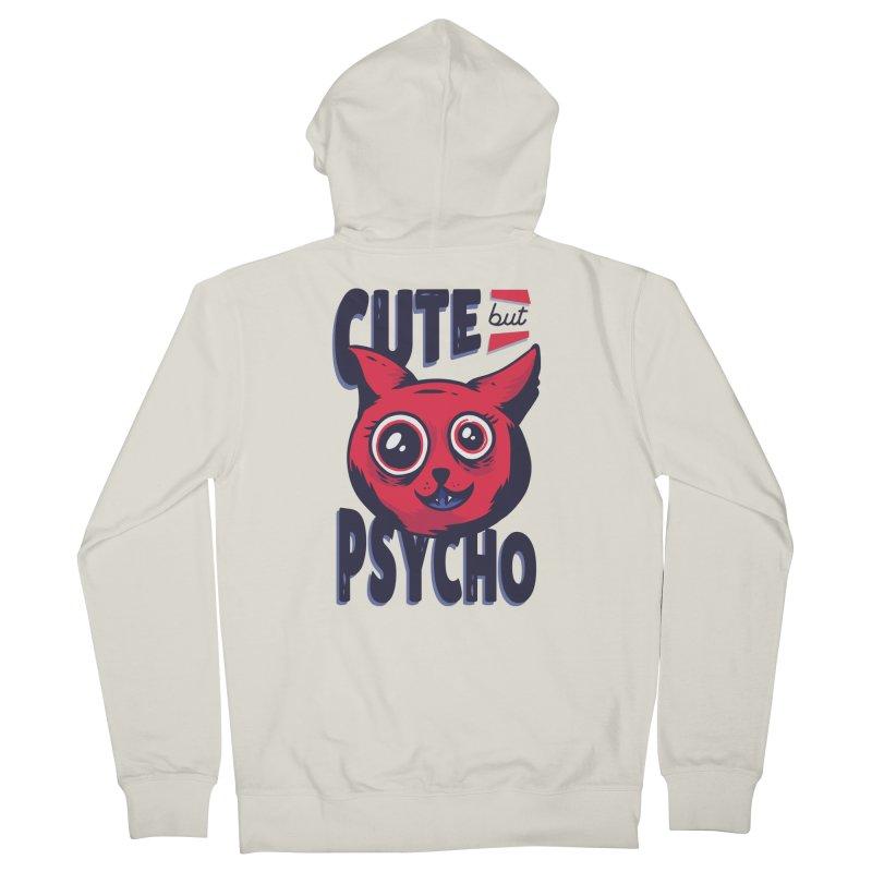 Cute But Psycho Women's Zip-Up Hoody by wimsical