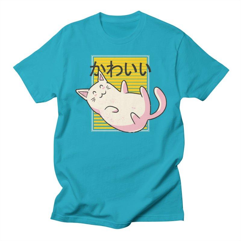 Kawaii Kat Women's T-Shirt by wimsical