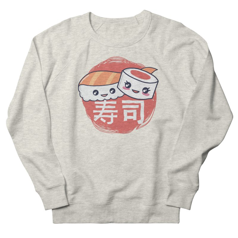 Pieces Of Sushi Men's Sweatshirt by wimsical