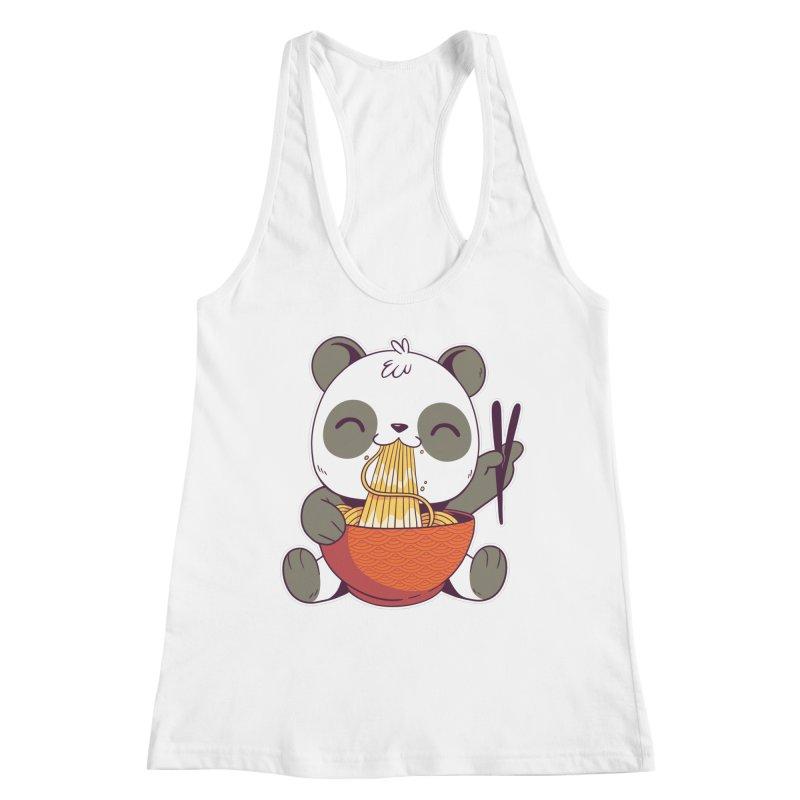 Ramen Panda Women's Tank by wimsical