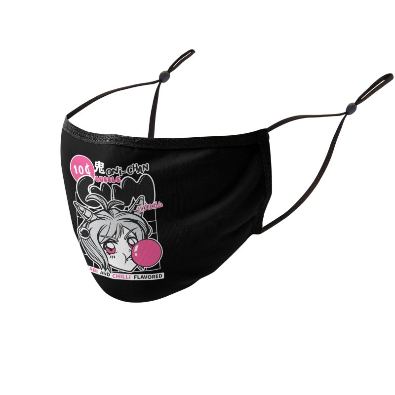 Anime Bubble Gum Accessories Face Mask by wimsical