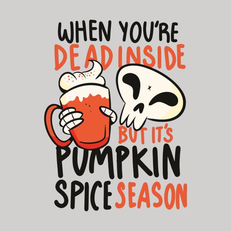 Pumpkin Spice Season Women's Sweatshirt by wimsical