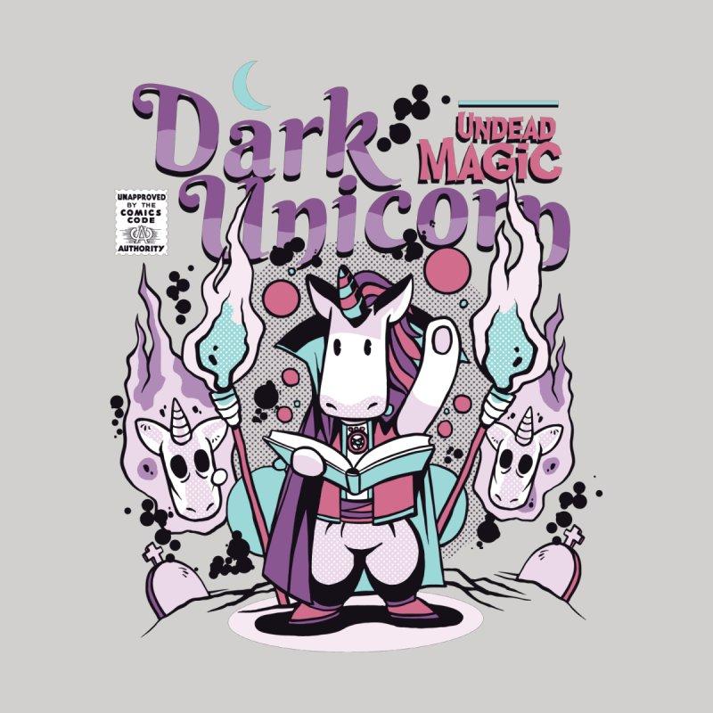 Dark Unicorn Men's T-Shirt by wimsical