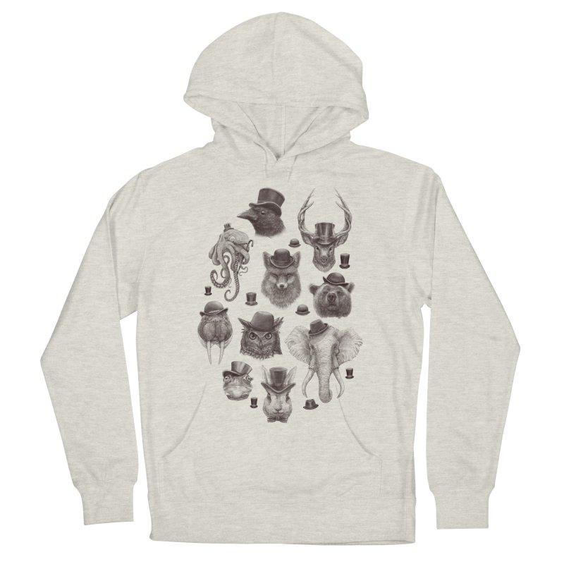 Gentlemen Men's Pullover Hoody by Windville's Artist Shop