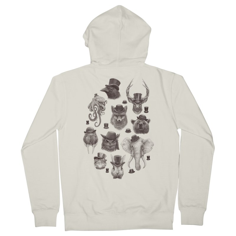 Gentlemen Men's Zip-Up Hoody by Windville's Artist Shop
